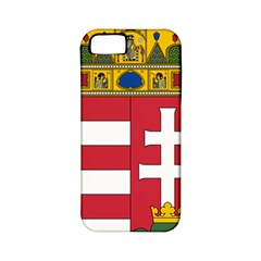 Coat of Arms of Hungary Apple iPhone 5 Classic Hardshell Case (PC+Silicone)