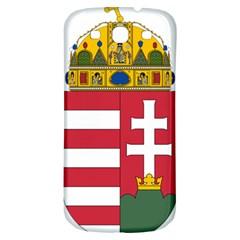 Coat of Arms of Hungary Samsung Galaxy S3 S III Classic Hardshell Back Case