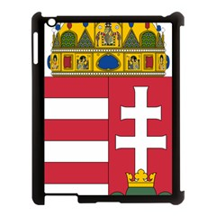 Coat of Arms of Hungary Apple iPad 3/4 Case (Black)