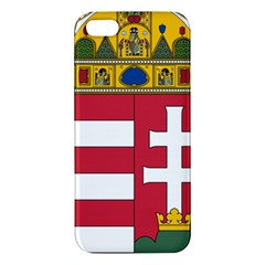 Coat of Arms of Hungary Apple iPhone 5 Premium Hardshell Case