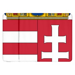 Coat of Arms of Hungary Samsung Galaxy Tab 8.9  P7300 Flip Case