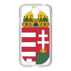 Coat of Arms of Hungary Samsung GALAXY S4 I9500/ I9505 Case (White)