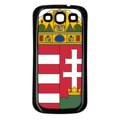 Coat of Arms of Hungary Samsung Galaxy S3 Back Case (Black)