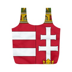 Coat of Arms of Hungary Full Print Recycle Bags (M)