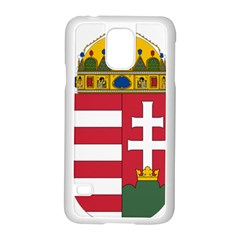 Coat of Arms of Hungary Samsung Galaxy S5 Case (White)