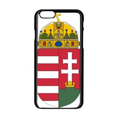 Coat of Arms of Hungary Apple iPhone 6/6S Black Enamel Case