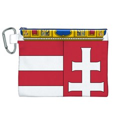 Coat of Arms of Hungary Canvas Cosmetic Bag (XL)