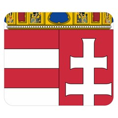 Coat of Arms of Hungary Double Sided Flano Blanket (Small)
