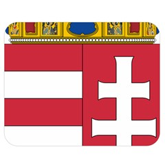 Coat of Arms of Hungary Double Sided Flano Blanket (Medium)