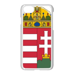 Coat of Arms of Hungary Apple iPhone 7 Seamless Case (White)