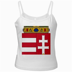 Coat of Arms of Hungary  White Spaghetti Tank