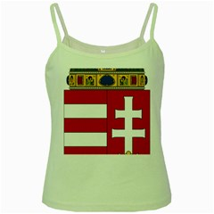 Coat of Arms of Hungary  Green Spaghetti Tank