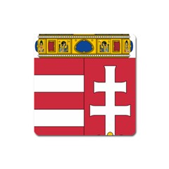 Coat of Arms of Hungary  Square Magnet
