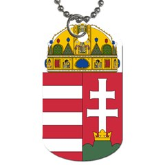 Coat of Arms of Hungary  Dog Tag (Two Sides)