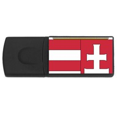 Coat of Arms of Hungary  USB Flash Drive Rectangular (1 GB)