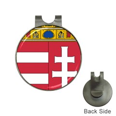 Coat of Arms of Hungary  Hat Clips with Golf Markers