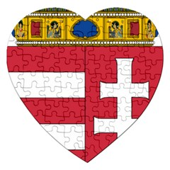 Coat of Arms of Hungary  Jigsaw Puzzle (Heart)
