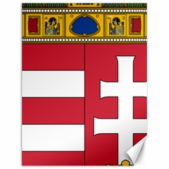 Coat of Arms of Hungary  Canvas 12  x 16