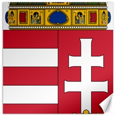 Coat of Arms of Hungary  Canvas 20  x 20