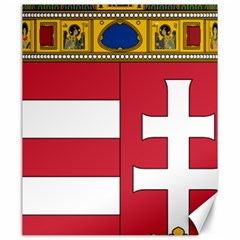 Coat of Arms of Hungary  Canvas 20  x 24