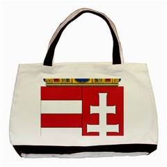 Coat of Arms of Hungary  Basic Tote Bag (Two Sides)
