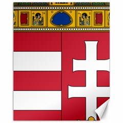 Coat of Arms of Hungary  Canvas 11  x 14