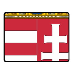 Coat of Arms of Hungary  Fleece Blanket (Small)