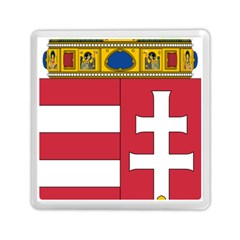 Coat of Arms of Hungary  Memory Card Reader (Square)