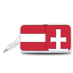 Coat of Arms of Hungary  Portable Speaker (White)