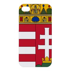 Coat of Arms of Hungary  Apple iPhone 4/4S Hardshell Case