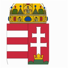 Coat of Arms of Hungary  Small Garden Flag (Two Sides)