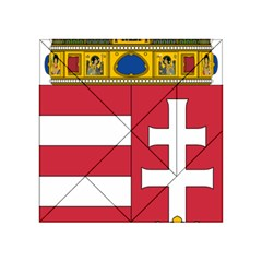 Coat of Arms of Hungary  Acrylic Tangram Puzzle (4  x 4 )