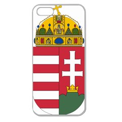 Coat of Arms of Hungary  Apple Seamless iPhone 5 Case (Clear)