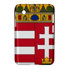 Coat of Arms of Hungary  Samsung Galaxy Tab 2 (7 ) P3100 Hardshell Case