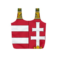 Coat of Arms of Hungary  Full Print Recycle Bags (S)