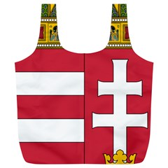 Coat of Arms of Hungary  Full Print Recycle Bags (L)