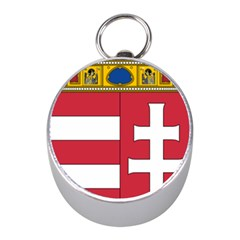 Coat of Arms of Hungary  Mini Silver Compasses