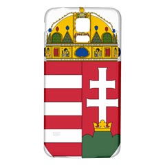Coat of Arms of Hungary  Samsung Galaxy S5 Back Case (White)