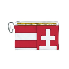 Coat of Arms of Hungary  Canvas Cosmetic Bag (S)