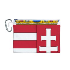 Coat of Arms of Hungary  Canvas Cosmetic Bag (M)