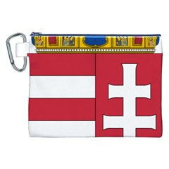 Coat of Arms of Hungary  Canvas Cosmetic Bag (XXL)
