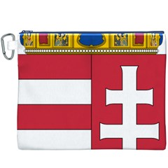 Coat of Arms of Hungary  Canvas Cosmetic Bag (XXXL)
