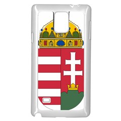 Coat of Arms of Hungary  Samsung Galaxy Note 4 Case (White)