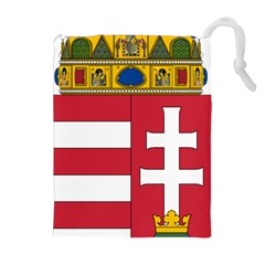Coat of Arms of Hungary  Drawstring Pouches (Extra Large)