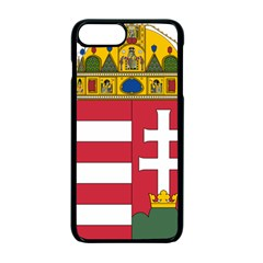 Coat of Arms of Hungary  Apple iPhone 7 Plus Seamless Case (Black)