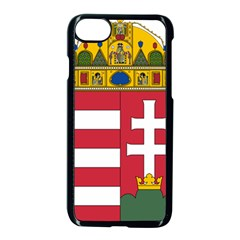 Coat of Arms of Hungary  Apple iPhone 7 Seamless Case (Black)