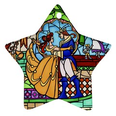 Happily Ever After 1 - Beauty and the Beast  Star Ornament