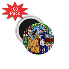 Happily Ever After 1   Beauty And The Beast 1.75  Magnets (100 pack)