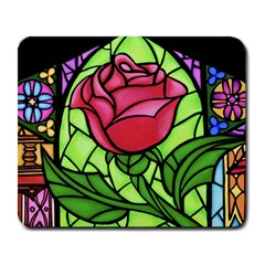 Happily Ever After 1 - Beauty and the Beast  Large Mouse Pad (Rectangle)