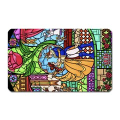 Happily Ever After 1   Beauty And The Beast Magnet (Rectangular)
